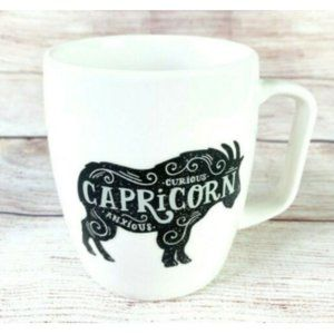 Threshold Target Capricorn Goat Coffee Tea Mug Cup